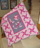 March 2019 - Messages of hope, love, strength and healing quilt
