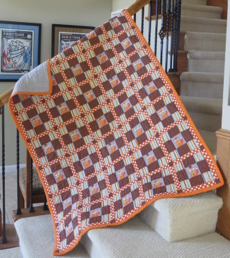 July 2020 - Quilt for Nolan